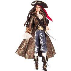Barbie Collector # K7972 Pirate Barbie