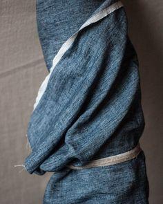Scout Denim   Linen   Merchant & Mills - 1/4m - Stitch 56  - 1