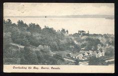 BARRIE, Ontario, 1907, Overlooking The Bay by Walter Scott