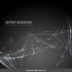 Абстрактный фон с сеткой Бесплатные векторы
