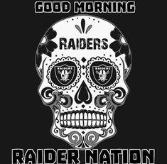 Raiders Vegas, Raider Nation, Good Morning, Darth Vader, Breathe, Sleep, Fictional Characters, Buen Dia, Bonjour