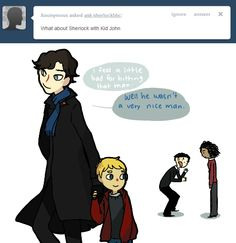 a ask bbc sherlock thing