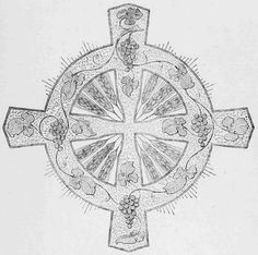 Design for Communion Cloth or Linen Superfrontal.