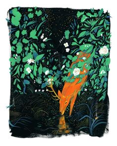 jon-lau: 'Fireflies' for Flower Pepper Gallery's upcoming Here...