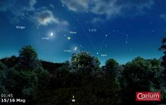 15 e 16 marzo 2016. Ancora una congiunzione tra Luna e Giove nelle prime ore delle notti del 15 e 16 maggio. Forse la meno spettacolare degli ultimi tempi in quanto a separazione osservabile (circa 7°), ma pur tuttavia un'occasione per andare alla ricerca di paesaggi adatti a valorizzare il fenomeno.