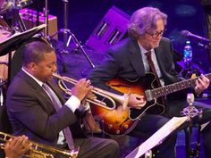 Eric Clapton and Wynton Marsalis play the blues in Manhattan, Taj Mahal steals show