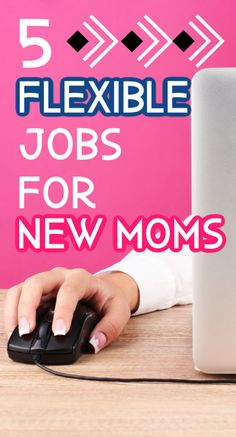 5 Flexible Jobs for New Moms - Single Moms Income Earn Money Easily, Make Money Now, Online Earning, Earn Money Online, Starting A Daycare, Virtual Assistant Jobs, Mom Advice, Work From Home Jobs, Online Work