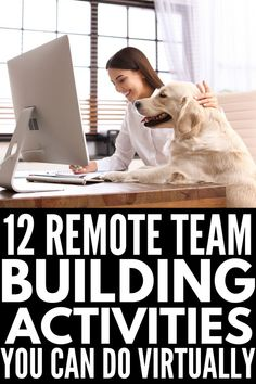 Working from home has its perks, but personal connections, company morale, and group productivity can suffer when working remotely. If you're looking for ice breakers and team building activities for coworkers you can use to keep your team members engaged, these fun games and challenges will inspire you! If you want to know how to build a positive team culture with your employees, these ideas are perfect! #remoteteams #teambuilding #virtualactivities #teambuilding activities #remoteteamideas Fun Team Building Activities, Team Building Exercises, Work Activities, Games For Team Building, Physical Activities, Leadership Coaching, Leadership Development, Ice Breakers For Work, Team Meeting Ice Breakers