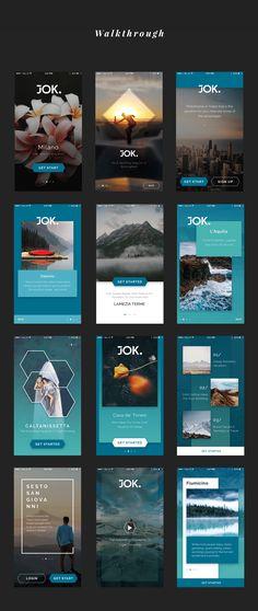 JOK Mobile UI Kit — UI Kits on UI8
