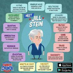 #JillNotHill #ImWithJill Jill2016.com