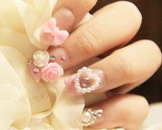 cute nails :) kalel cullen nails