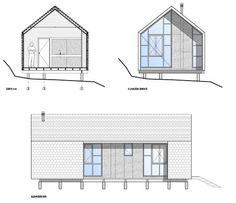 Colico Workshop,Sections / Elevations