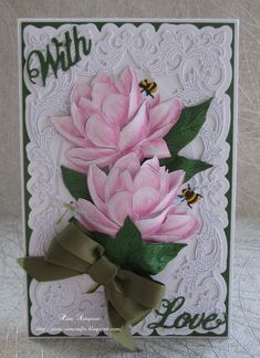 """Hello everyone, Sharing my DT samples for Tattered Lace. Launching as """"A Pick Of The Week"""" on Create a. Tattered Lace Cards, Floral Save The Dates, Birthday Cards For Women, Beautiful Handmade Cards, Create And Craft, Mothers Day Cards, Christmas Snowman, Flower Cards, Stampin Up Cards"""