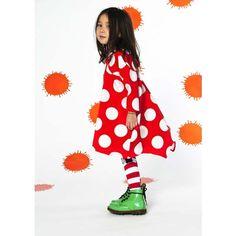 BODEBO Polka Dot Dress #polka dot #kid #portrait