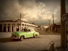Carrer de Colon, Cuba.  Street of Colon, Cuba.