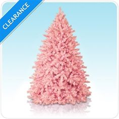 Cotton Candy Pink Christmas Tree, Pink Colored Christmas Trees, Pink Artificial Christmas Tree | Treetopia