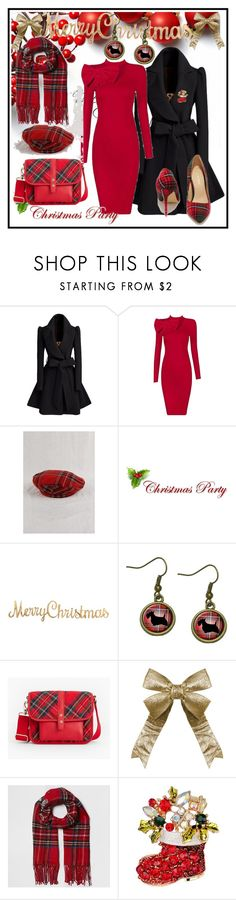 """""""CHRISTMAS PARTY"""" by lakisha-34 ❤ liked on Polyvore featuring Talbots, River Island and Christmas"""