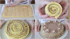 TORTA NOCCIOTELLA di Benedetta - Hazelnuts Nutella Roll cake Recipe