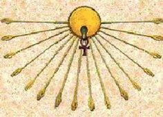 Egyptian Sun Tree