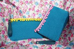 Crochet purses with 100% cotton thread