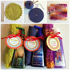 WhiMSy love: KNIT: Trio of Dishcloths