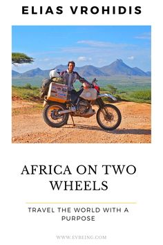 Elias Vrohidis| Travel the world with a purpose| Travel adventure| Travel around the world on a motorbike| Travel Africa #EliasVrohidis #travelmotorbike Travel Guides, Travel Tips, Travel Destinations, Dubai Resorts, Visit South Africa, Travel Inspiration, Life Inspiration, Beautiful Places To Visit, Africa Travel