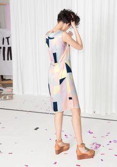 & Other Stories   Rachel Antonoff Silk Midi Dress
