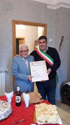 Torre de Passeri festeggia Quintino Laureti