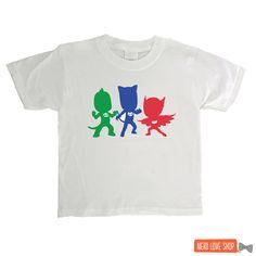 PJ Masks  PJ Masks's Silhouettes  PJ Masks Shirt  by nerdloveshop