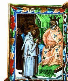 Gellért apát és István király