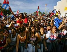 Calle Ocho, Miami, Florida, USA: March - An exciting Cuban street festival in Little Havana, with food and live music.