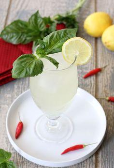 Thai Basil, Chili and Ginger Lemonade