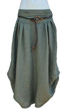 Italian Linen Maxy Skirt