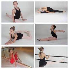 Ballet stretch.