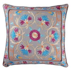 I pinned this Rati Pillow in Gray from the Karma Living event at Joss and Main!