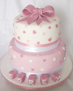 Christening Cake Ideas Christening Cakes Christening Christening Cakes For Girls Ideas Christening Cake Ideas Christening Cakes Girl Ideas Christening Cakes Ideas For Baby Girl Pretty Cakes, Cute Cakes, Beautiful Cakes, Amazing Cakes, Gateau Baby Shower, Baby Shower Cakes, Baby Christening Cakes, Bolo Minnie, Baby Girl Cakes