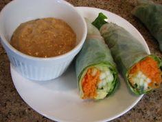 Nutritarian Vegan Springrolls ~ Motivated Mamas