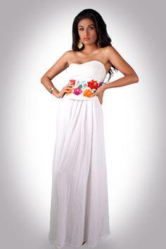Vestidos de novia de manta mexico