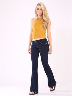 MUSTARD BOHEMIAN SUEDE LACE-UP HALTERNECK only @www.trendyclothings.co.uk