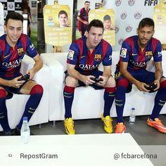 Like them si much :3 <3 #messi #neymar #munir