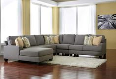 Chamberly 4 Piece LAF Sectional - Ashley HomeStore - Canada