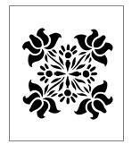 STENCILS Fancy Flourish 105 Stencils for Painting Stencil for