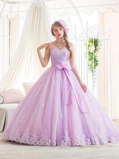 新作 かわいい カラードレス 新作 レンタル 料金はお問合わせください。やざわいしょう YAZAWAISYO 矢澤衣裳
