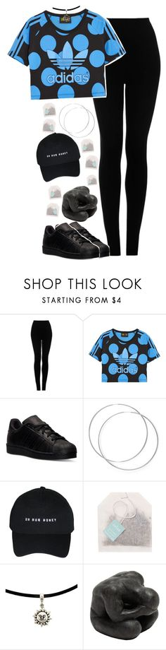 """""""Adidas."""" by martii-alcaraz-14 ❤ liked on Polyvore featuring Topshop, adidas Originals, adidas and Oly"""