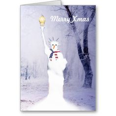 Funny American snowman personalized christmas Greeting Cards #xmascards #america #patriotic $3.15 available from http://www.zazzle.com/funny_american_snowman_personalized_christmas_card-137858206875899580?areas=%5bcard_5x7_outside_print_front%2ccard_5x7_inside_print_side2%2ccard_5x7_outside_print_back%5drf=238779474269366062