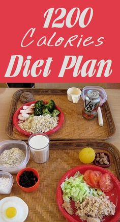 1200 Calories Diet Plan – What Foods To Eat