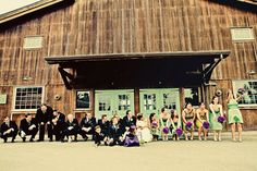 Best Wedding Party Shot EVER. The Wave...click on the photo to see it in action!
