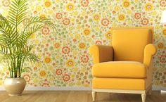Batalhando por um lar: Tecido de parede Uma das vantagens do material é q...