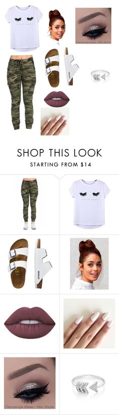 """""""Camo"""" by phoridavies on Polyvore featuring Chicnova Fashion, TravelSmith, Lime Crime and EF Collection"""