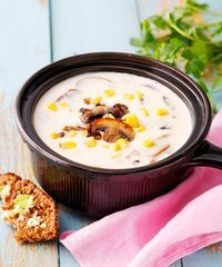 Something Sweet, Sweet And Salty, Cheeseburger Chowder, Soup, Recipes, Soups, Ripped Recipes, Cooking Recipes